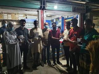 কেশবপুর উপনির্বাচনে নৌকা প্রতিকের পক্ষে প্রচারণায় ঝিকরগাছা ছাত্রলীগ ও যুবলীগ