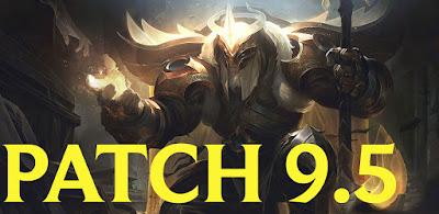league of legends patch 9.5 download