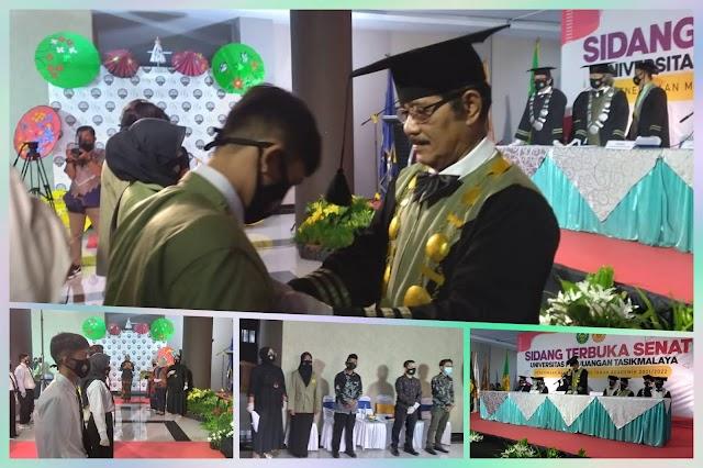 Sebanyak 954 Mahasiswa Baru UNPER Tasikmalaya Tahun Akademik 2021-2022 Resmi Dilantik