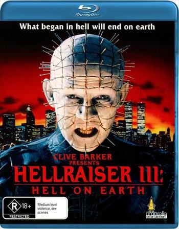 Free Download Hellraiser III – Hell On Earth 1992 UNCUT Dual Audio Hindi  BluRay 300mb