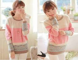Model Baju Sweater Import Korea Modern