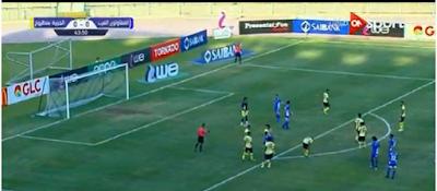 ملخص مباراة المقاولون العرب والجزيرة مطروح