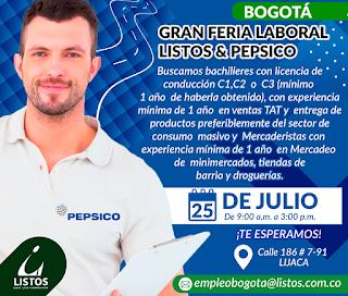 Empleo como Conductor Entregador en Bogota