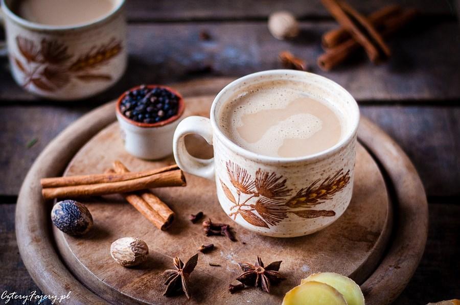 Masala chai indyjska herbata rozgrzewająca
