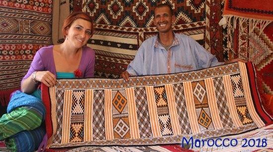 الزربية الامازيغية البربرية tappis berbere