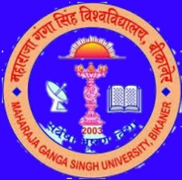 MGSU logo Maharaja Ganga Singh University Result time Tebal 2020