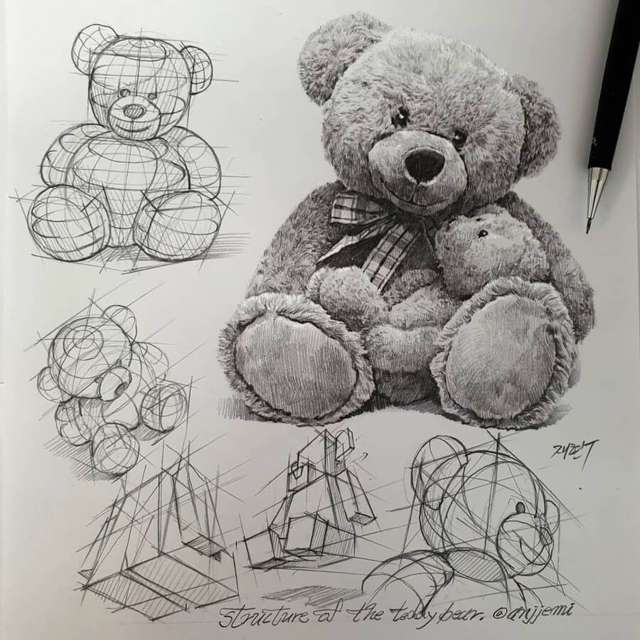 01-Large-and-small-teddy-bear-anjjaemi-www-designstack-co