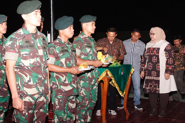 Panggung Prajurit Dalam Rangka Purna Tugas Dan HUT Ke- 53 Yonif Raider 408/Sbh