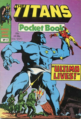 Titans pocket book #11, Iron Man vs Ultimo