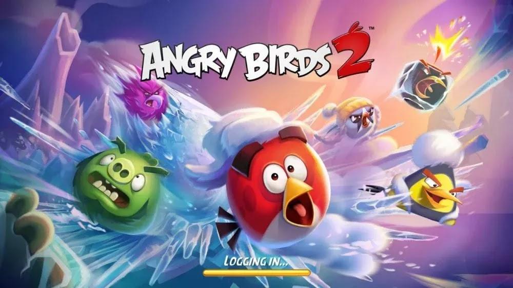 Angry Birds 2 (MOD, Diamonds/ EnergyBlack Pearls)