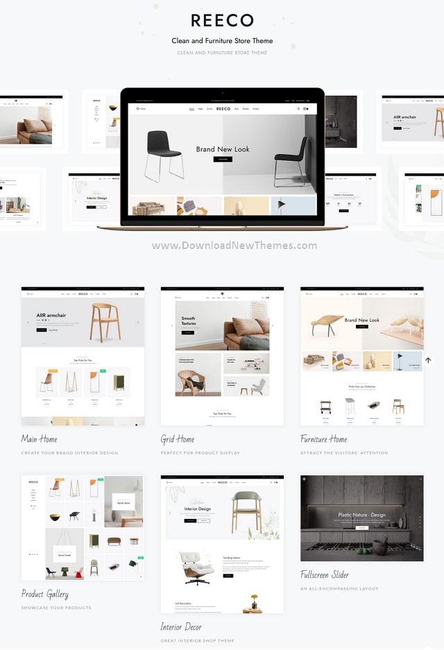 Furniture WooCommerce WordPress Theme