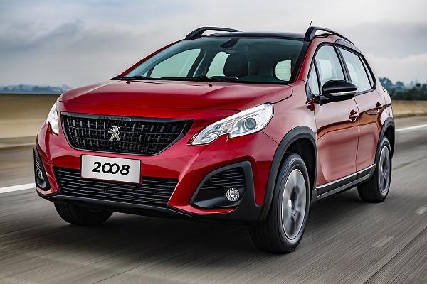 Ficha Técnica Peugeot 2008 Active 1.6 (2020)