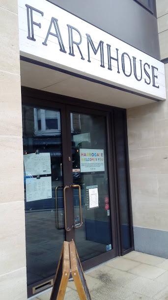 Farmhouse Restaurant in Harrogate Frontage