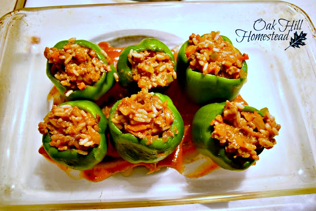 A tasty twist on stuffed peppers