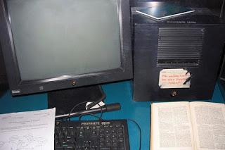 Az első honlap server a világon a CERN-ben