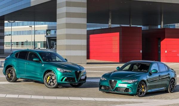 Alfa Romeo Giulia QV y Stelvio QV 2020