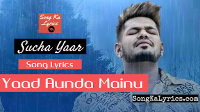 yaad-aunda-mainu-lyrics