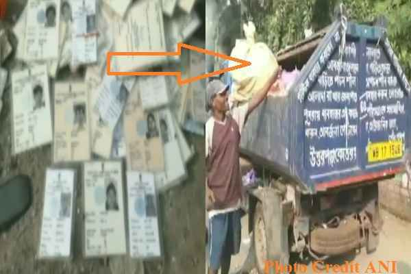 more-than-hundreds-voter-id-card-found-in-dustbin-hooghly-uttarpara