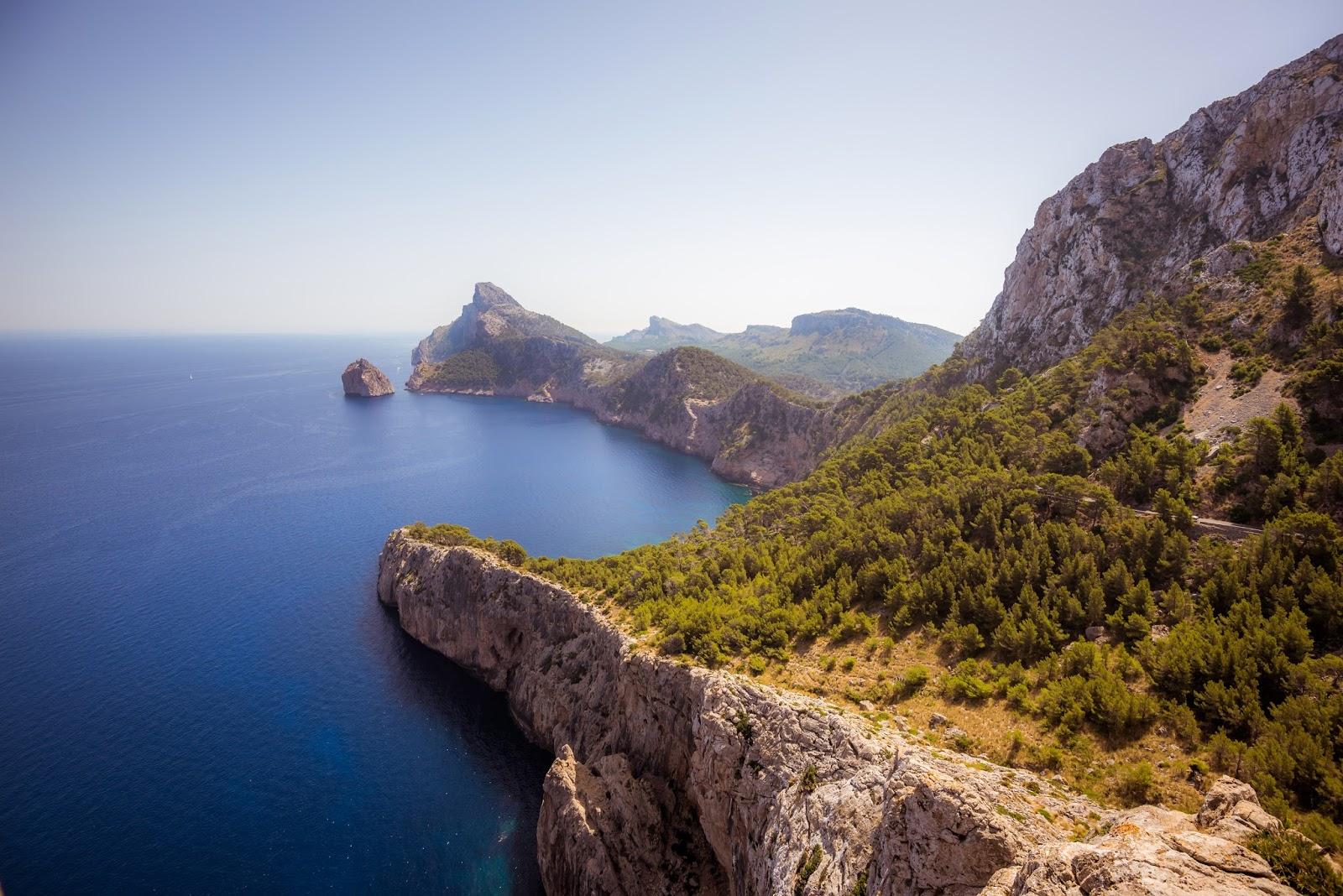 Views of Sa Foradada Mallorca