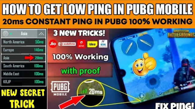 How to fix Ping in PUBG Mobile Lite 0.21.0 update