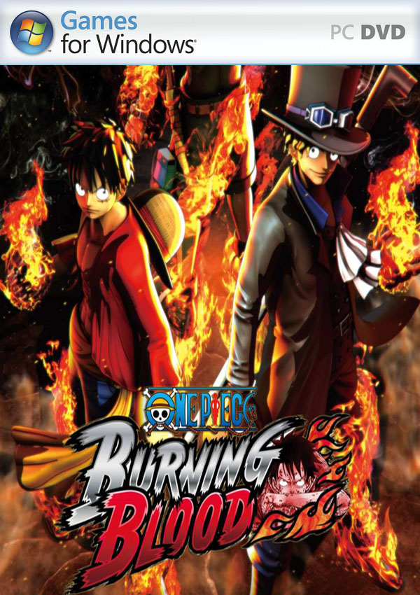 One Piece Burning Blood PC Cover