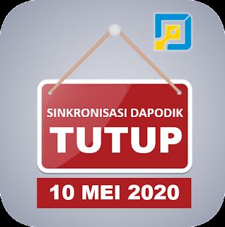 Jadwal Cut Off Singkronisasi Dapodik 2020.b