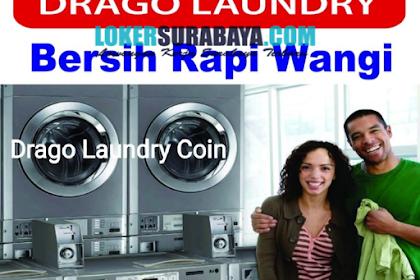 Lowongan Kerja Surabaya Terbaru di Drago Laundry Coin Juni 2019