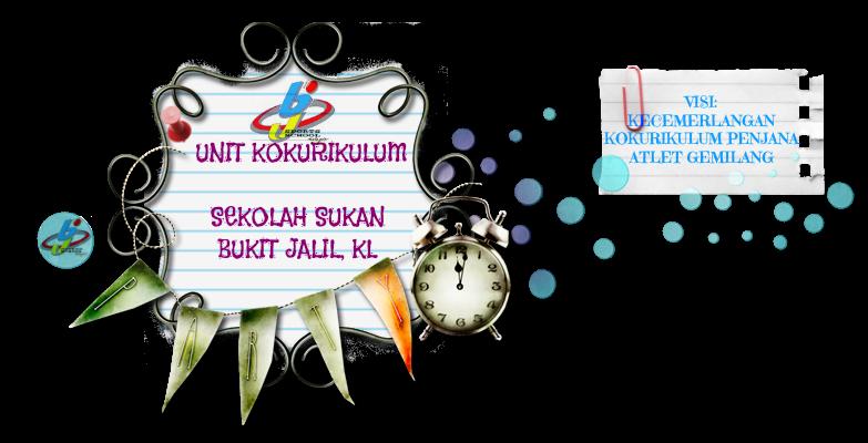 Unit Kokurikulum Sekolah Sukan Bukit Jalil Format Laporan Tahunan