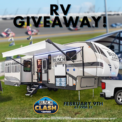 Want to #Win a RV from Busch Beer? #NASCAR