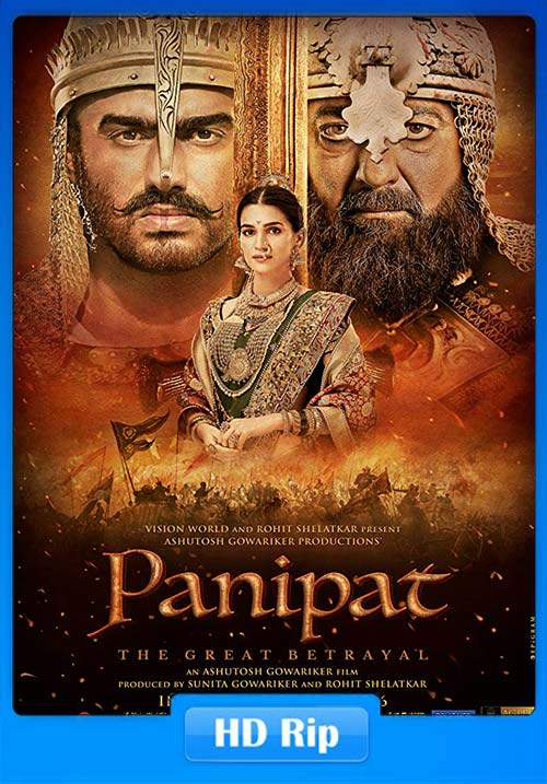 Panipat 2019 Hindi 720p HDRip ESub x264 | 480p 300MB | 100MB HEVC