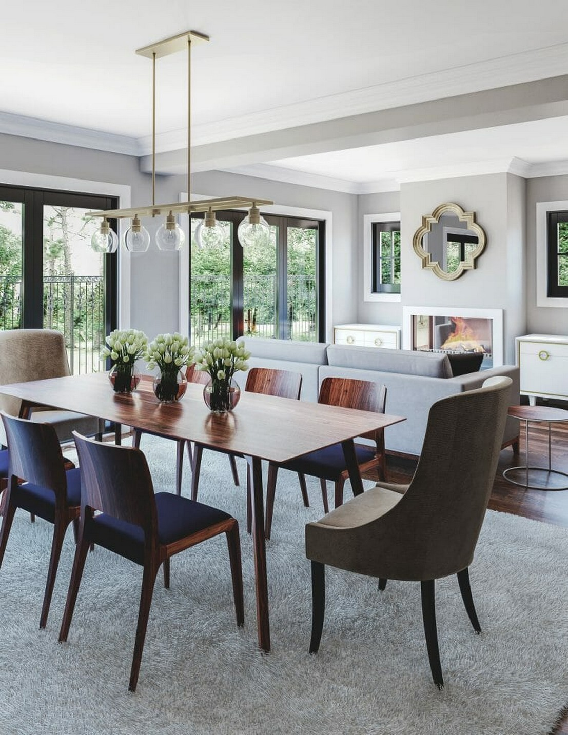 Great Renovation Inspiration of Living Room - Must See!!