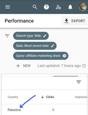 Google admit Palestine