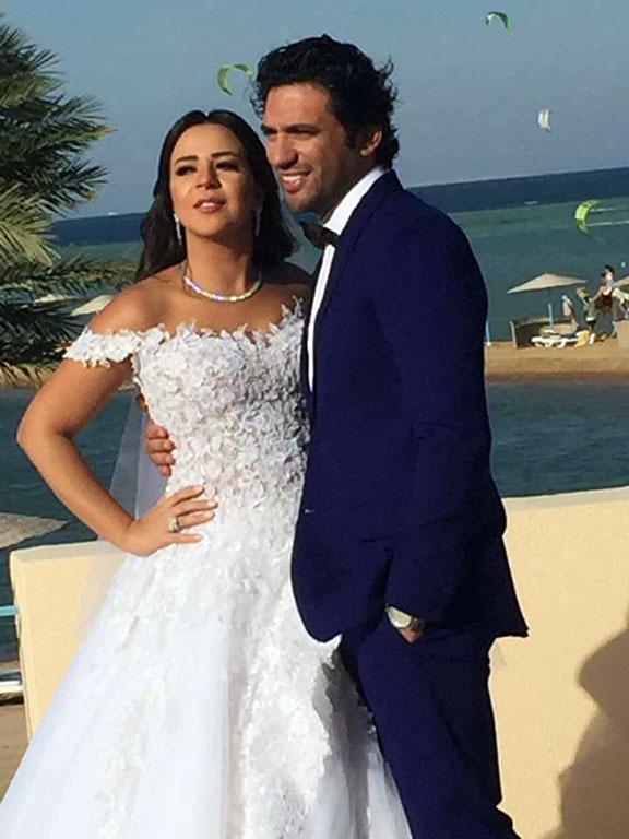 زفاف ايمى سمير غانم وحسن الرداد