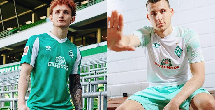 Werder Bremen 20 21 Home Away Kits Released Footy Headlines