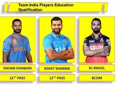 टीम इंडिया के सबसे कम पढ़े लिखे खिलाड़ियों की लिस्ट, नंबर 1 है मात्र 9वीं फेल