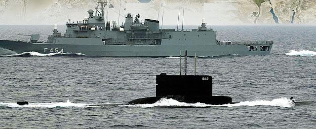Ο Ελληνικός Στόλος «απλώνεται» στη Μεσόγειο-Το ΠΝ «βουλιάζει» τη «Γαλάζια Πατρίδα» (ΓΡΑΦΗΜΑ)