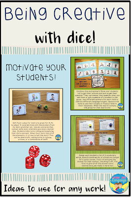 Being creative with dice to motivate your students!