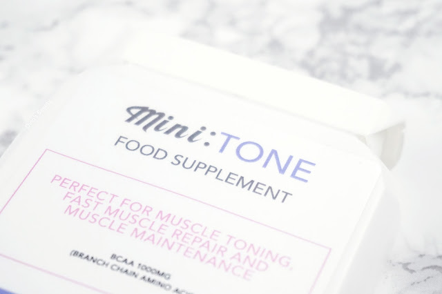 Dino's Beauty Diary - Fitness Fridays - Mini V Nutrition - Mini:Tone Food Supplement Review*