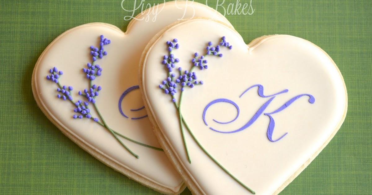 Lizy B: Bridal Shower Monogram Cookies!