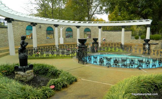 Jardim da Meditação, em Graceland