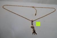Übersicht: U7 neue Tier Katze Halskettes Anhänger 18 k Gold vergoldet, Strasssteine, Platin-Damen Schmuck