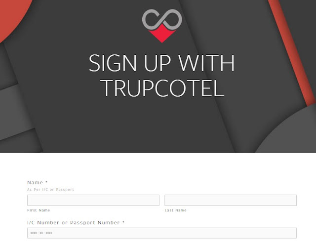 sign up with tropcotel