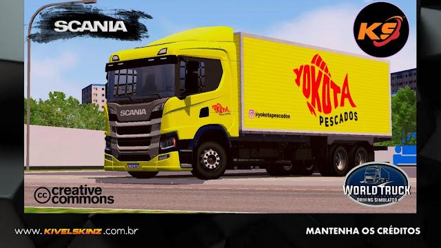 SCANIA P320 - YOKOTA PESCADOS (ROMEU E JULIETA)