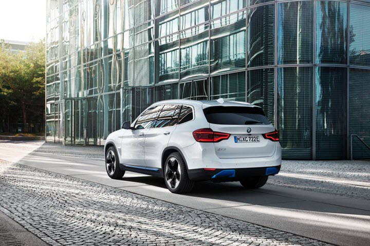 BMW iX3 ra mắt - SUV chạy điện đầu tiên của hãng xe Đức