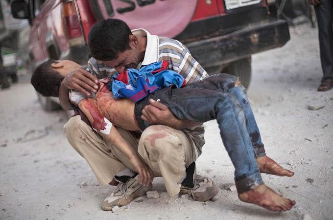 """""""Los francotiradores disparan a los niños en la columna vertebral para causar el mayor daño posible"""""""