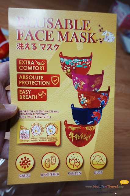 Chinese New Year Premium Reusable Face Mask