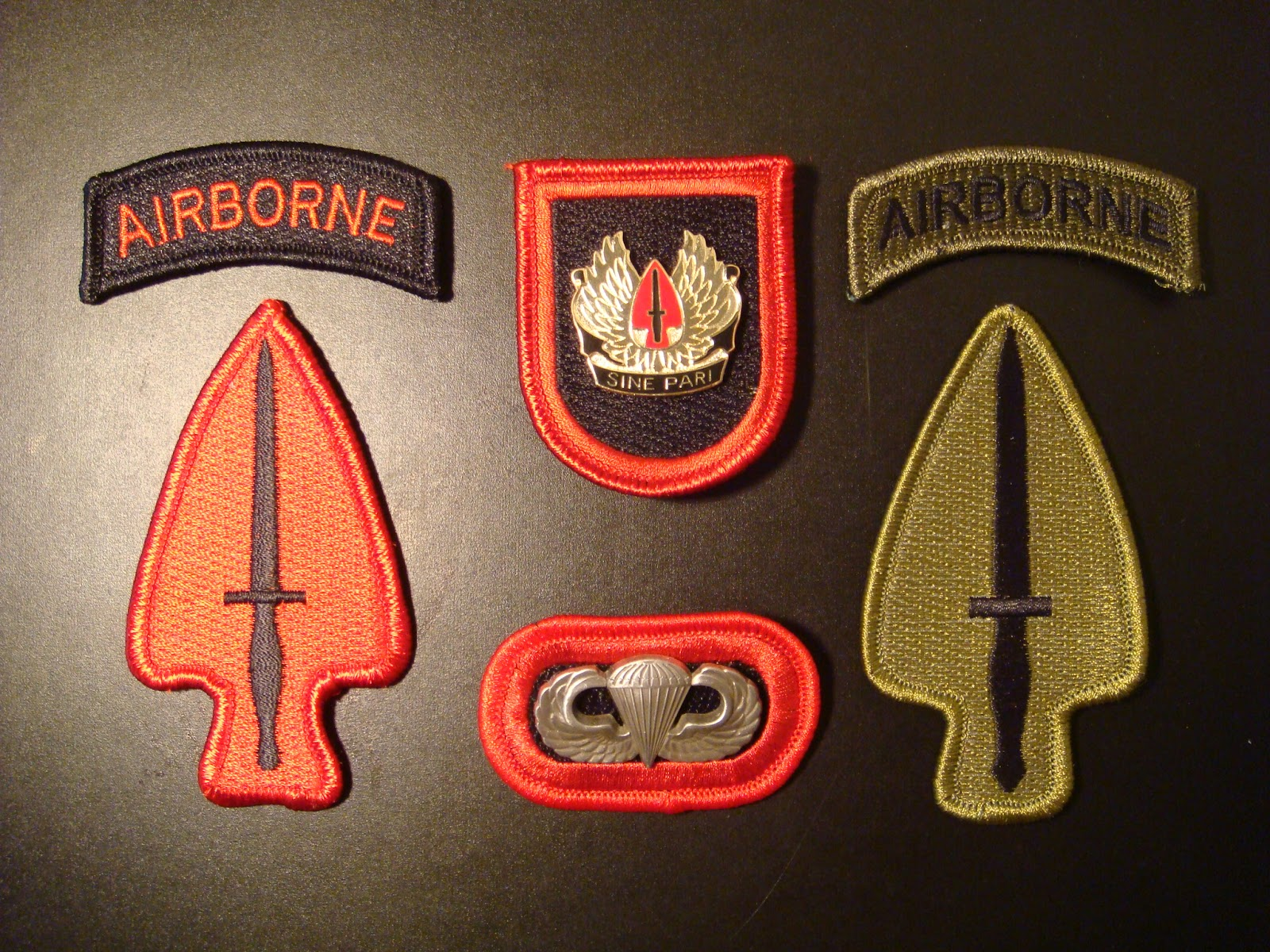 Airsoft US Army 5th Special Forces Task Force 1 CCN COMMO TF1A Uniform patch Aufnäher Bekleidung & Schutzausrüstung