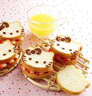 Gambar Roti Hello Kitty 6