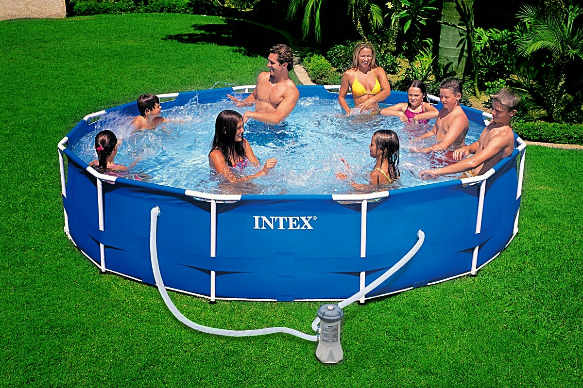 Piscinas Desmontables Tubulares Armar Piscina Intex Rectangular