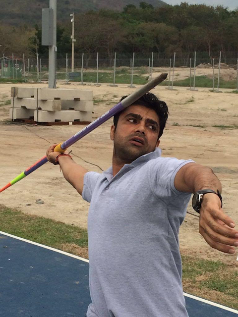 Narender Ranbir, will participate in the F-44 category in javelin throw